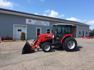 Massey Ferguson 54hp Cab Tractor with Loader - AUGUST SALE