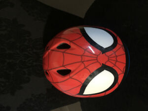 Spider man bike helmet