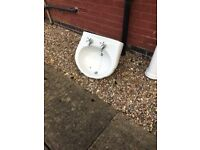 Free second hand white sink