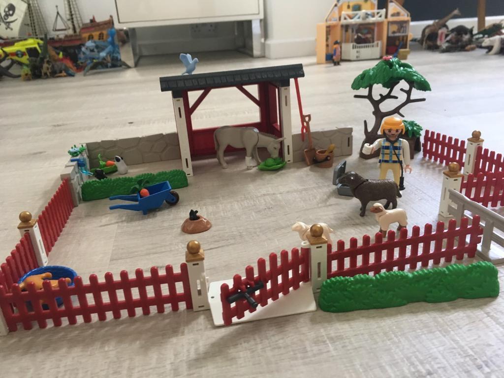 Playmobile farmyard