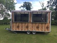 Catering Trailer - 14ft Fantastic Spec, only 3 years old!