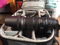 Sigma 70-200 f2.8 OS HSM for Nikon