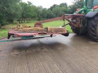 Teagle topper 8 offset agricultural topper