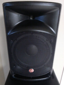 New Harbinger Vari series 2112 12 inch powered speaker