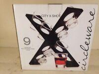 City X Shot Holder for 8 Glasses