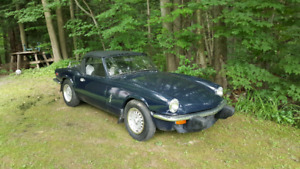 ***REDUCED PRICE 1975 TRIUMPH SPITFIRE $3400