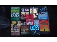 Hardback bundle james patterson