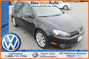 2013 Volkswagen Golf Wolfsburg Edition 2.5L $159.18 BI WEEKLY!