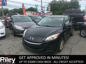 2010 Mazda Mazda3 GS STARTING AT $98.94 BI-WEEKLY
