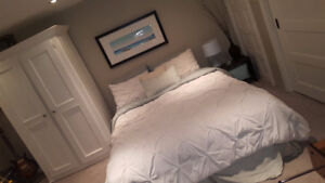 Beautifully furnished ensuite bedroom and living room for rent