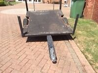 5x4 ft trailer mini subframe and wheels project