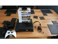 Xbox 360 250gb with 14 games and kinect