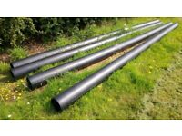 Water pipe - 225mm x 6m - 4 lengths - Peak pipe PE100 (HDPE)