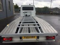 2013 iveco lwb recovery/transporter truck