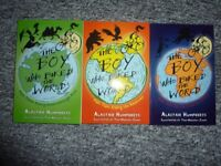 The boy who biked the world trilogy paperback, Like New