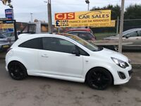 Vauxhall corsa limited edition 1.2 sxi 3 door 2013 40000 fsh full year mot mint car fully serviced