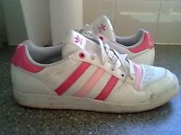 womens adidas Trainers size uk.8