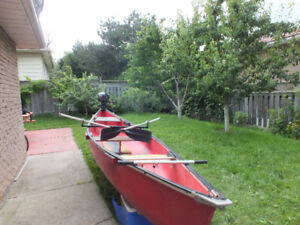 14' Canoe with a NEW Suzuki Motor 2.5hp (or without motor)