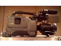 Sony dsr 300p DV Cam recorder + Tripod stand with remote function