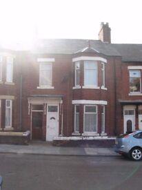 Newly renovated 2 bedroom, ground floor flat, Graham Street, South Shields, NE33 3JR