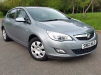Vauxhall Astra '11 automatic long MOT excellent condition