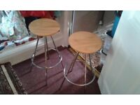 2 clean kitchen stools...delivery available