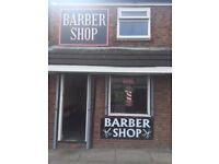 Barber shop on main road for sale