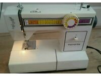 Heavy duty Toyota different pattern electric sewing machine complete with foot pedal