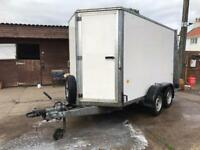 Ifor Williams BV105G tow a van box trailer mobile workshop