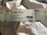The Downs Festival tickets x3