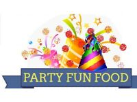 Party Fun Food equipment hire. wedding birthday event party kids
