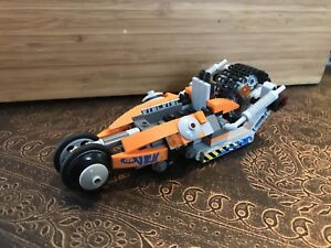 Unique Lego Vehicle (car? Hovercraft? Space crawler?)