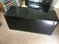 Frank Olsen INTEL1100BLK Black TV Cabinet For TVs Up To 55inch