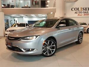 2016 Chrysler 200 C-SPORT-LEATHER-SUNROOF-LOADED-ONLY 49KM