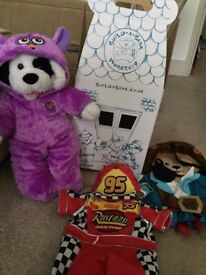 Build a Bear with 3 outfits - £10 **Collect from Romford**