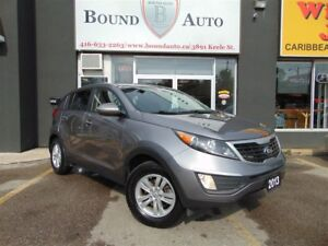 2013 Kia Sportage LX-HEATED SEATS,BLUETOOTH,ALLOYS,ACCIDENT FREE