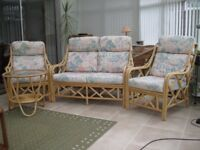 Conservatory 3 Piece Suite + Table
