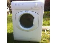 87 Hotpoint TVM560 6kg White Vented Tumble Dryer 1 YEAR GUARANTEE FREE DELIVERY