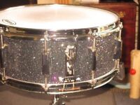 GC CUSTOM SNARE DRUM AND MAPEX SNARE STAND