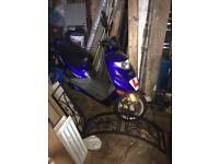 2011 adly moped