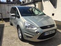 Ford S Max 2.0 Diesel Automatic 2010 New Shape Low mileage family car 7 seater