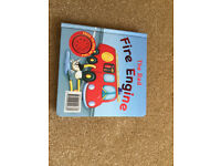 Book - The Red Fire Engine - press to hear me talk