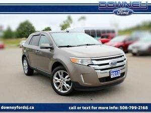 2013 Ford Edge LIMITED 301A LEATHER AWD PANO ROOF