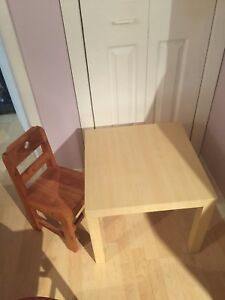 Table and chairs for sale $20