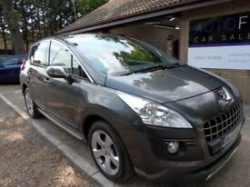 PEUGEOT 3008 1.6 EXCLUSIVE HDI 5d AUTO 112 BHP (grey) 2010