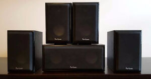 Home Theatre Speaker System (Pro-Linear) - Cube Series