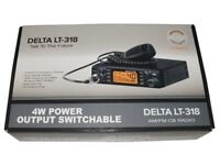 CB RADIO DELTA LT 318 MULTI BAND 400 CHANNELS
