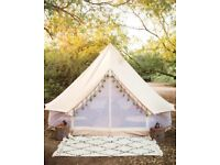 5m Bell Tent - Brand New - Double Walled - White - Pick Up