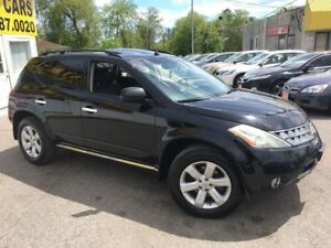 2007 Nissan Murano SL/AWD/BACKUPCAMERA/PWR ROOF/LOADED/ALLOYS