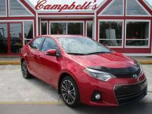 2014 Toyota Corolla S SUNROOF HTD LTHR BACK UP CAMERA